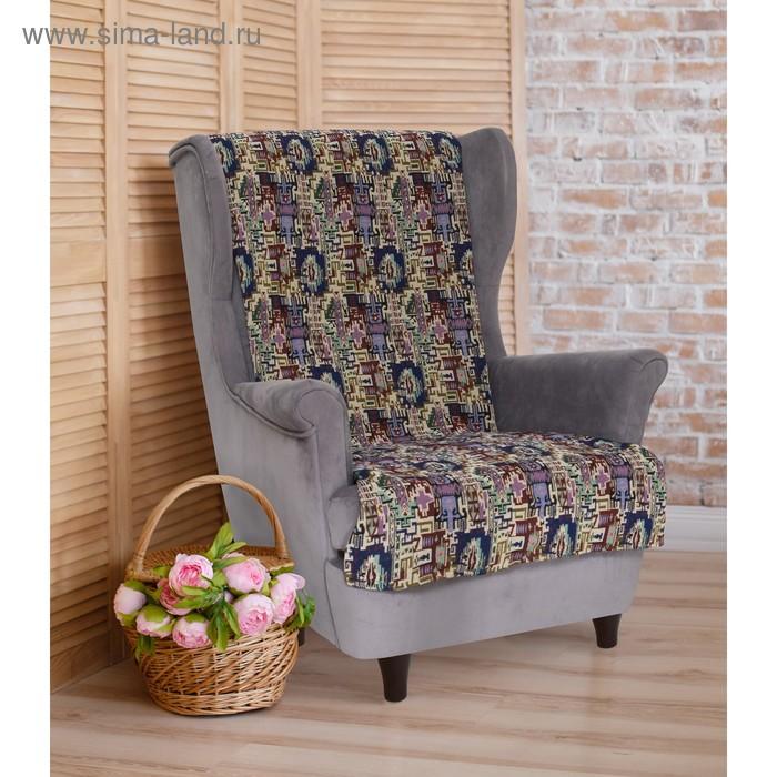 """Накидка на кресло """"Этель"""" Фантазия 70х160 ± 2 см"""