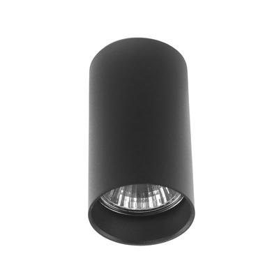 Светильник потолочный Luazon под лампу GU10, 100 х 55 мм, ЧЕРНЫЙ