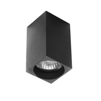 Светильник потолочный Luazon под лампу GU10, 100 х 55 х 55 мм, ЧЕРНЫЙ