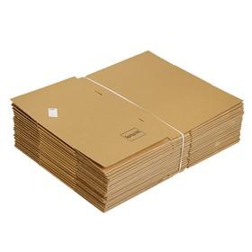 Коробка картонная 38 х 28,5 х 19,5 см Ош