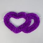Сердца №10 п/э, фиолетовые