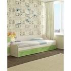 Кровать с ящиками Буратино, 2032х930х750, зеленый