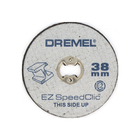 Набор дисков отрезных по металлу 2615S456JD, 12 шт, 38 мм, хв. 3,2 мм, 35000 об/мин