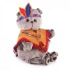 """Мягкая игрушка """"Басик в костюме индейца"""", 19 см Ks19-070"""