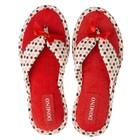 Тапочки женские Domino арт. D-EL72, цвет красный, размер 36-37