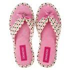 Тапочки женские Domino арт. D-EL72, цвет розовый, размер 36-37