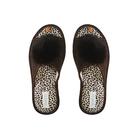 Тапочки женские Domino арт. DKL-15120 , цвет коричневый, размер 36-37