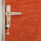 """Комплект для обивки дверей: иск.кожа, поролон 5 мм, д. гвозди, струна """"Рулон"""", коричневый"""