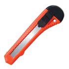 Нож универсальный SANTOOL, корпус пластик, квадратный фиксатор, 18 мм