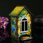 """Чайный домик """"Домик с корзинкой цветов"""""""
