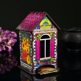 """Чайный домик """"Домик с цветами"""""""