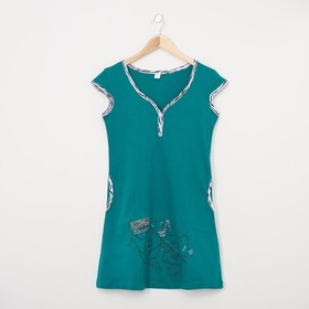 Платье женское 30413/2 цвет бирюзовый, р-р 52