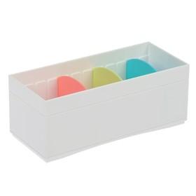 Органайзер для мелочей 181x78x72 мм, цвет белый