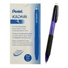 Ручка шариковая автоматическая Pentel Click&Go, трехгранная, узел 0.7мм, чернила синие