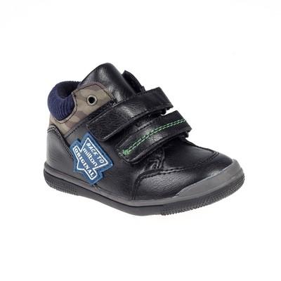 Ботинки дошкольные для мальчиков арт. SB-25593 (чёрный) (р. 24)