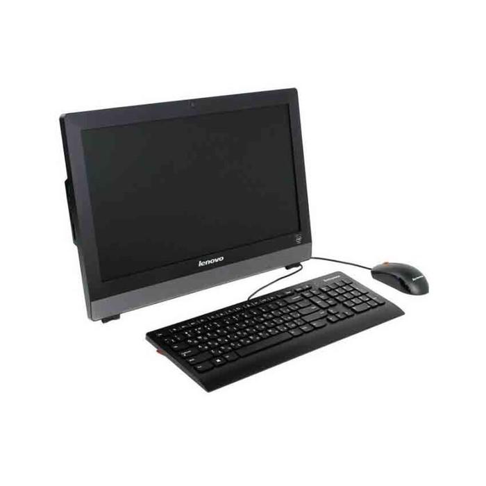 "Моноблок Lenovo S200z 19.5""Cel J3060(1.6)/4Gb/500Gb/CR/noOS/клавиатура/мышь/Cam/черный"