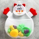 Сетка для хранения игрушек в ванной «Котик»