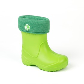 Сапоги детские арт. 2066 B-RW-EVA (зеленый) (р. 24/25)