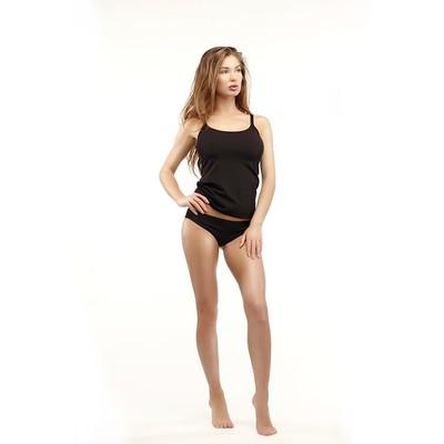 Майка женская 005м цвет чёрный, р-р 48