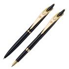 Набор пишущих принадл. PIERRE CARDIN шарик.ручка+ручка-роллер, черный корпус 142467