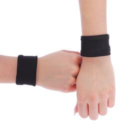 Напульсник бифлекс  8 см, цвет черный