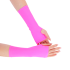 Перчатки для фитнеса бифлекс, цвет розовый