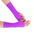 Перчатки для фитнеса бифлекс, цвет сиреневый