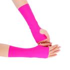 Перчатки для фитнеса бифлекс, цвет фуксия