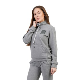 "Костюм женский ""QR-код"", размер 50, цвет серый меланж ФЛК1312"