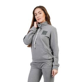 "Костюм женский ""QR-код"", размер 52, цвет серый меланж ФЛК1312"
