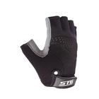 Перчатки велосипедные STG STG, AI-03-202, размер L, цвет черные/серые