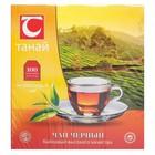 """Чай черный байховый высокогорный """" Танай"""" 100 пакетов"""
