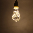 "Лампа светодиодная декоративная ""Шар"" ST64, 145 х 64 мм, Е27, 3 Вт, 230 В, Тепло-Белый"