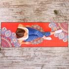 Коврик для йоги 183х63х0,2 см