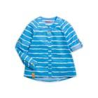 Блузка для девочки, рост 110 см, цвет лазурный GWCJ3049