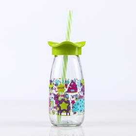 Бутылка 250 мл 'Молочный путь', рисунок МИКС Ош