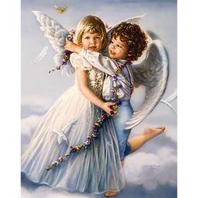 "Картина стразами ""Ангелочки"""
