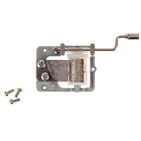 Механизм музыкальный механический для шкатулки 2х7,5х3,5 см