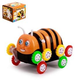 """Машина-перевертыш """"Пчелка"""", работает от батареек"""