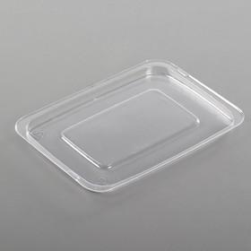 Крышка к контейнеру КС-05, квадратная, прозрачная Ош