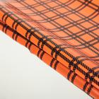 """Пленка голографическая """"Клетка"""", оранжевый, 50 х 70 см"""