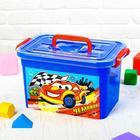 """Ящик для игрушек """"Чемпион"""" с крышкой и ручками, 6,5 л"""