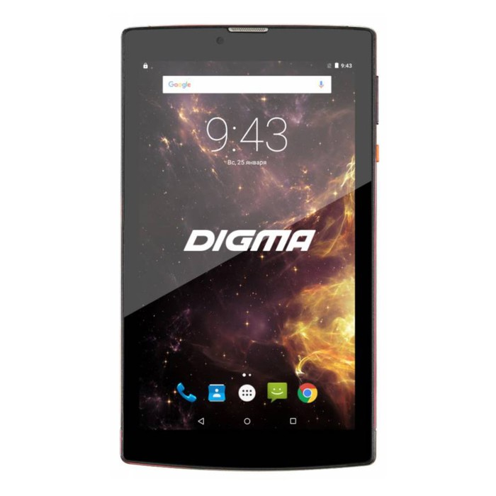 "Планшет Digma Plane 7012M 3G Red Black 7"" IPS,1024x600,1Gb RAM+8Gb, 2Mp+0,3Mp,GPS,3000mAh"