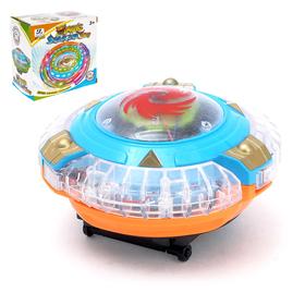 """Юла """"Магический волчок"""", работает от батареек, световые и звуковые эффекты"""