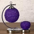 """Аромасветильник """"Шары"""", фиолетовая лампа, G4, 220 В, сенсор"""