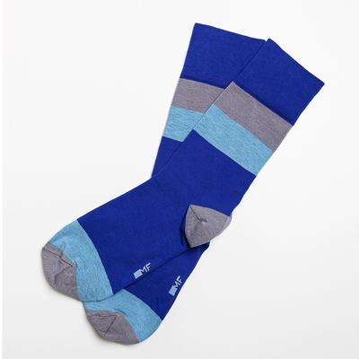 Носки мужские 001K-124 (7001K) цвет синий кобальт, р-р 25