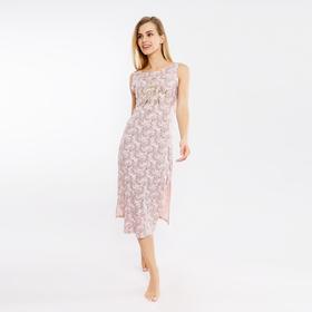 Сорочка женская 2133-6 (572317) цвет розовый, р-р 42 (XS)