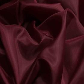 Ткань подкладочная, ширина 150 см. цвет бордо Ош