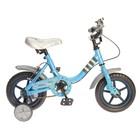 """Велосипед 12"""" Graffiti Minky синий"""