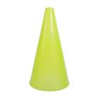 Конус для разметки полей и трасс 20 см флуоресцентный желтый